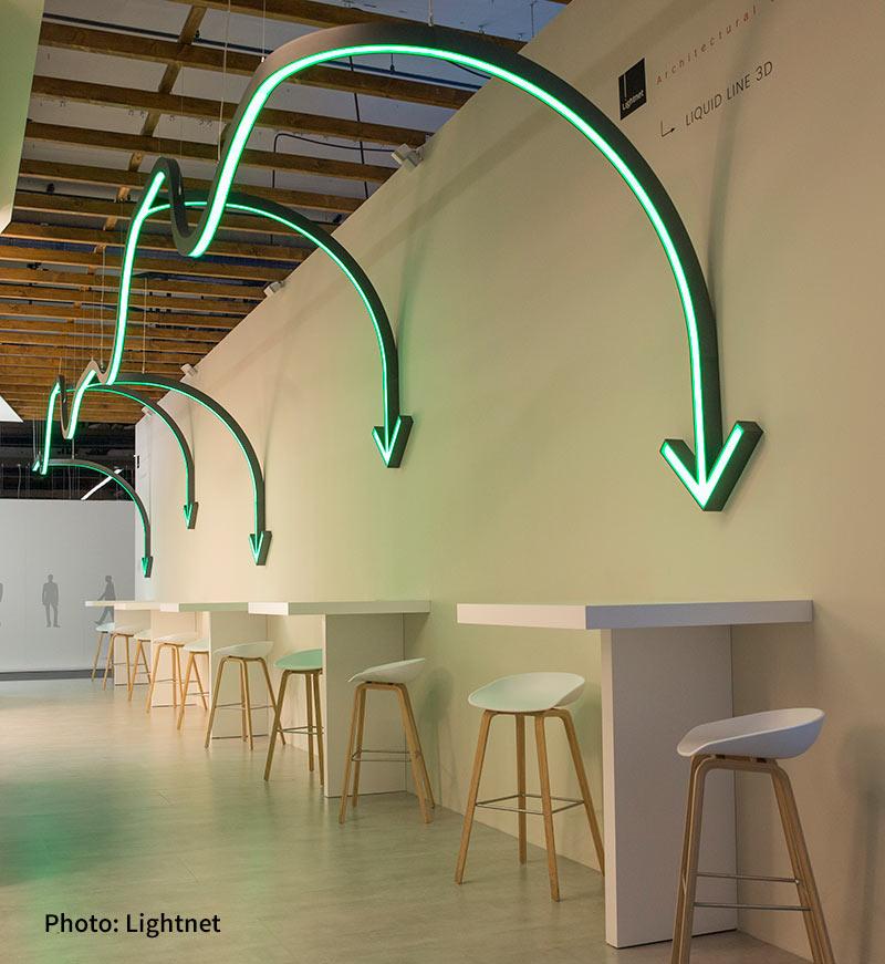 Light Building 2018 Liquid Line 3d Light Abilities